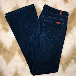 7 for all mankind women's size 29